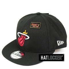 New Era Miami Heat 2018 NBA Draft Snapback Hat