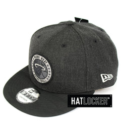 New Era Miami Heat Tip Off Series Black Snapback Hat