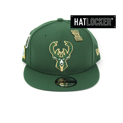 New Era Milwaukee Bucks 2018 NBA Draft Snapback Cap