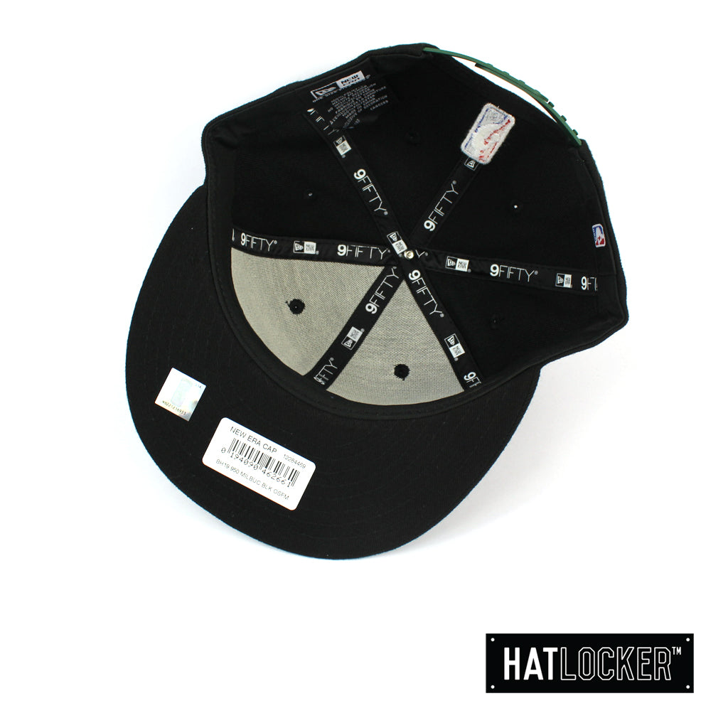 New Era Houston Rockets BH Series Colour Logo Black Snapback