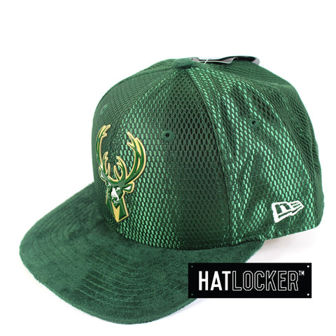 New Era - Milwaukee Bucks On-Court Draft Collection Snapback