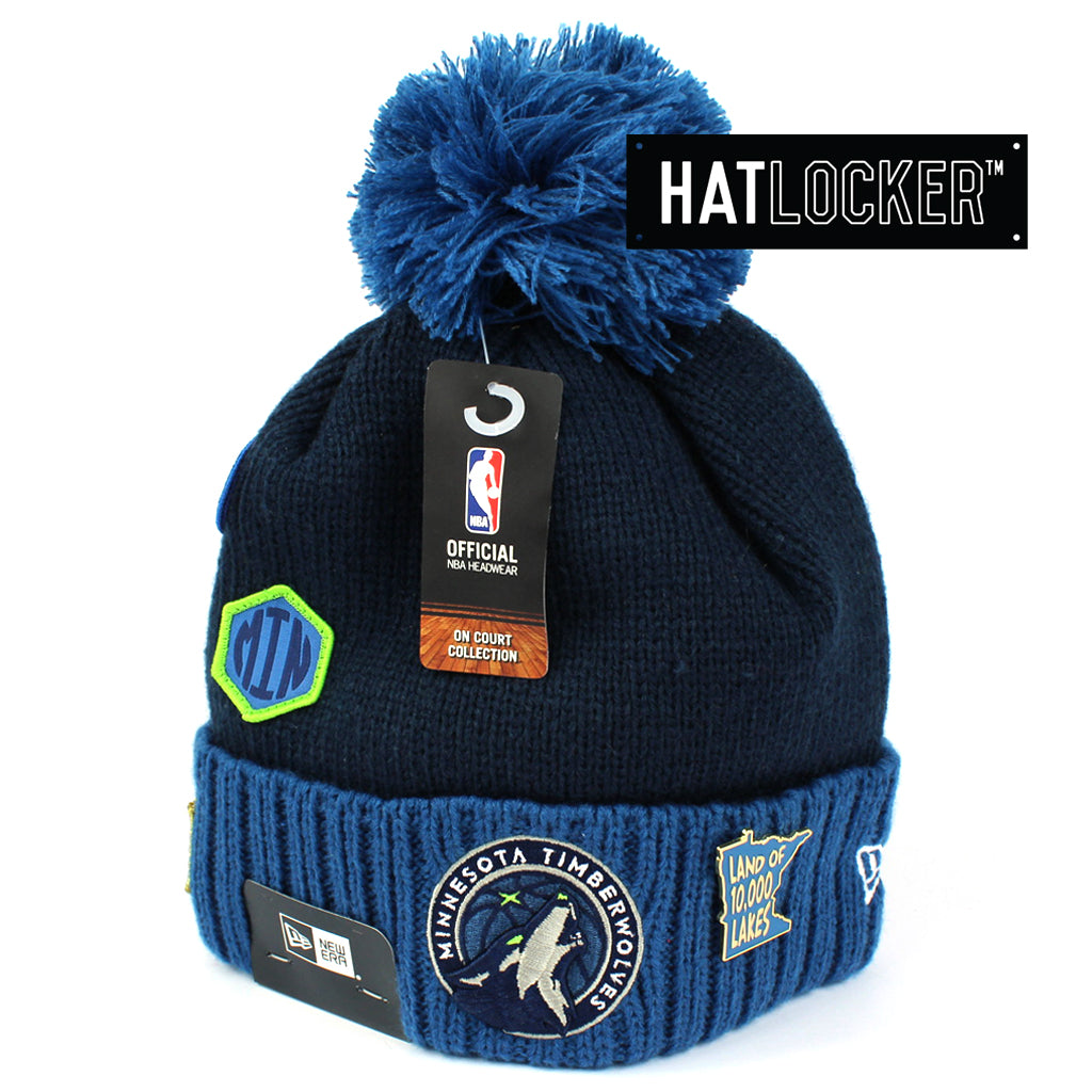 New Era Minnesota Timberwolves 2018 NBA Draft Beanie