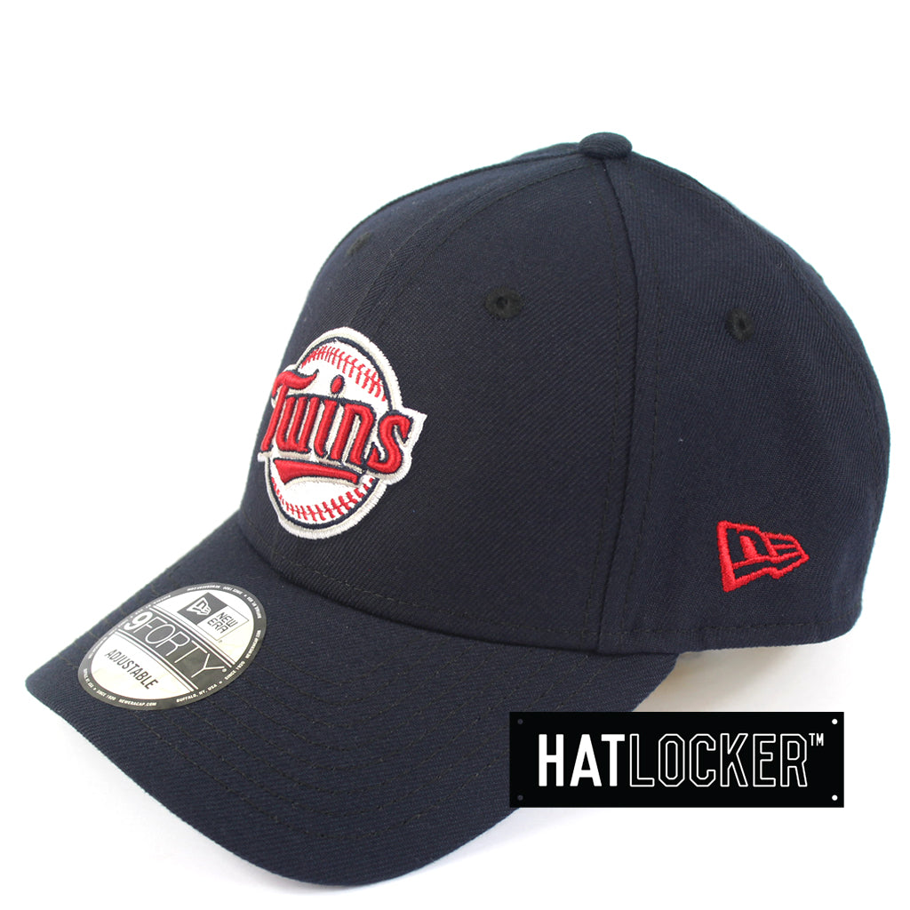 New Era Minnesota Twins Team Badge Curved Snapback Cap
