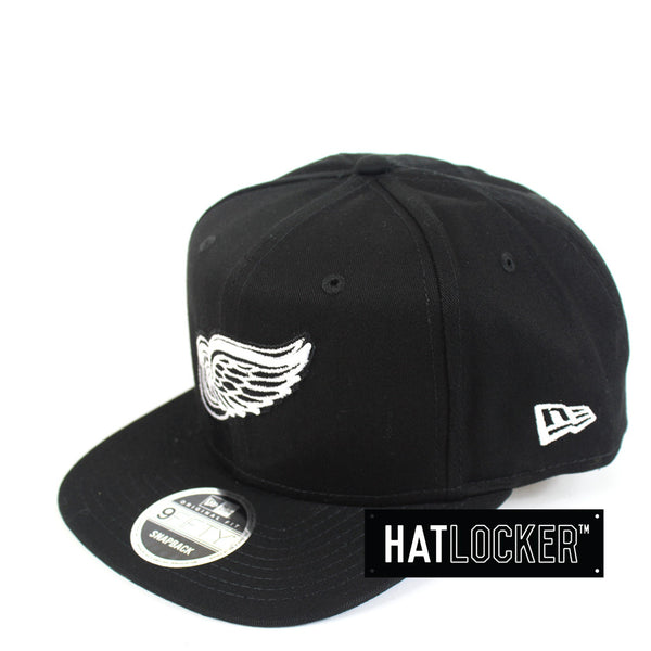 New Era - Detroit Red Wings Motown B&W Snapback