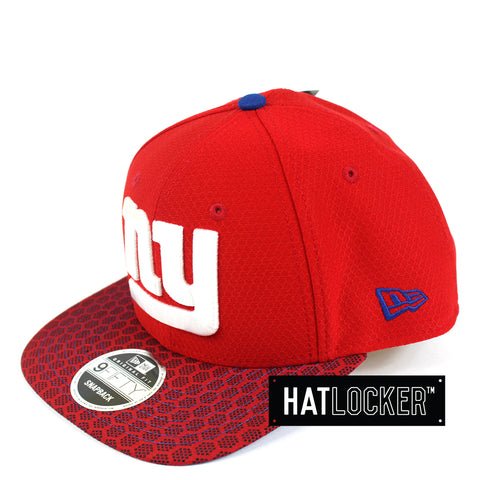 New Era - New York Giants 2017 Official Sideline Snapback