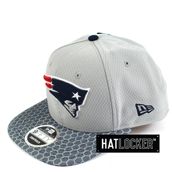 New Era - New England Patriots 2017 Official Sideline Snapback