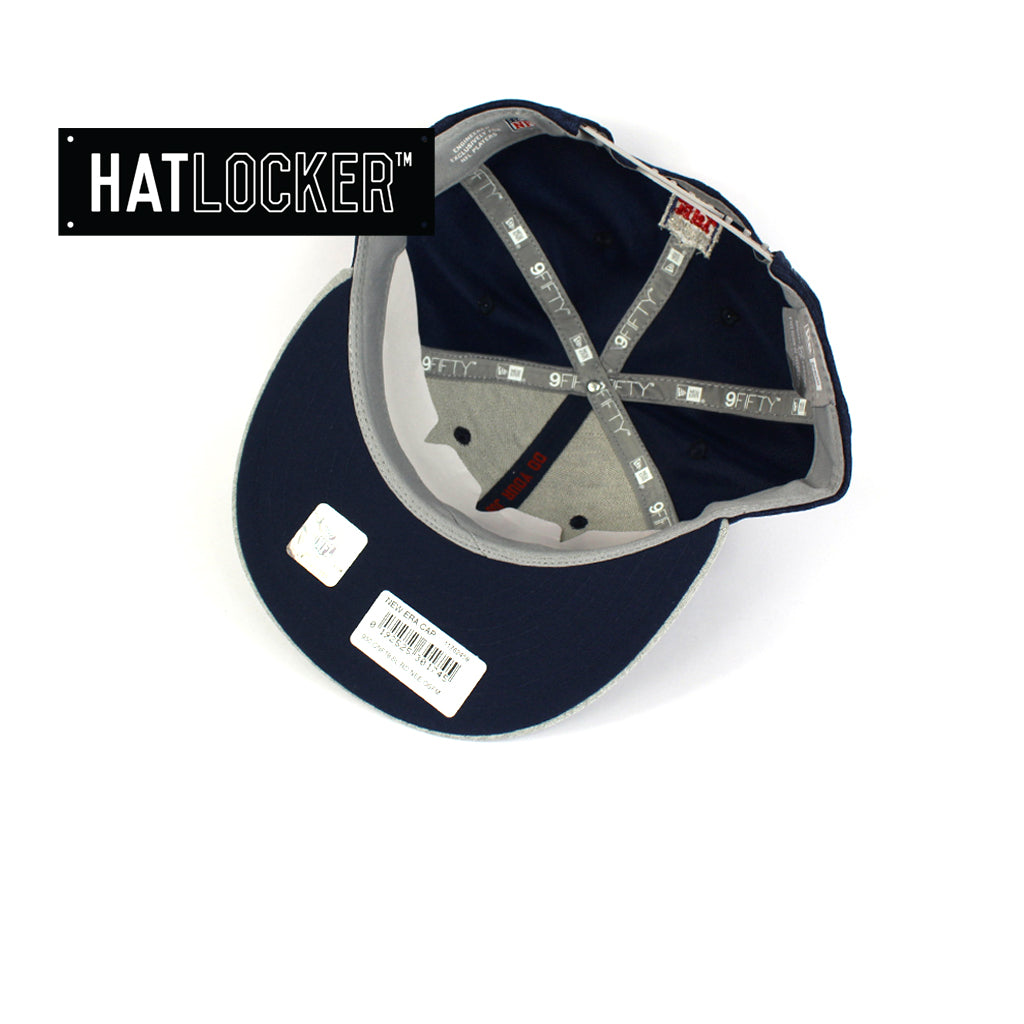 New Era New England Patriots 2018 Official Sideline Snapback Cap