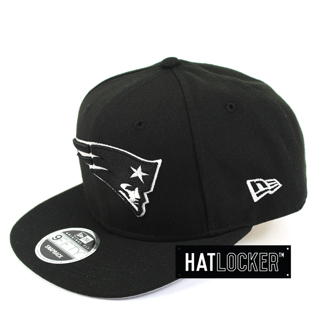 178666609 New Era | NFL New England Patriot Black White Snapback Hat Australia ...