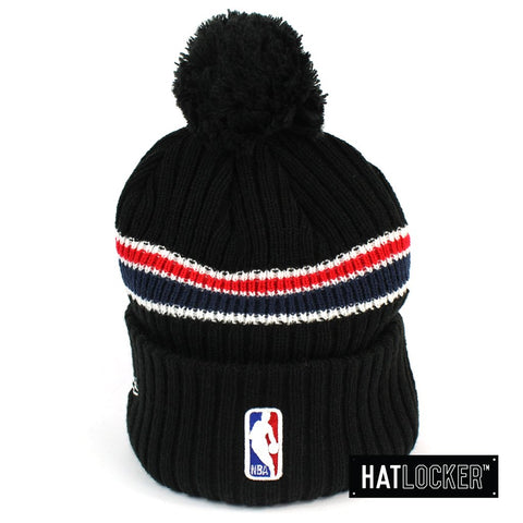 New Era New Orleans Pelicans BH Series Black Pom Knit Beanie