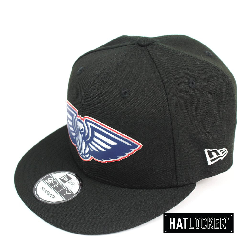 New Era New Orleans Pelicans BH Series Colour Logo Black Snapback
