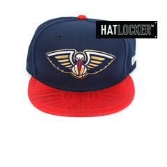 New Era New Orleans Pelicans On-Court Emblem Collection Snapback Hat