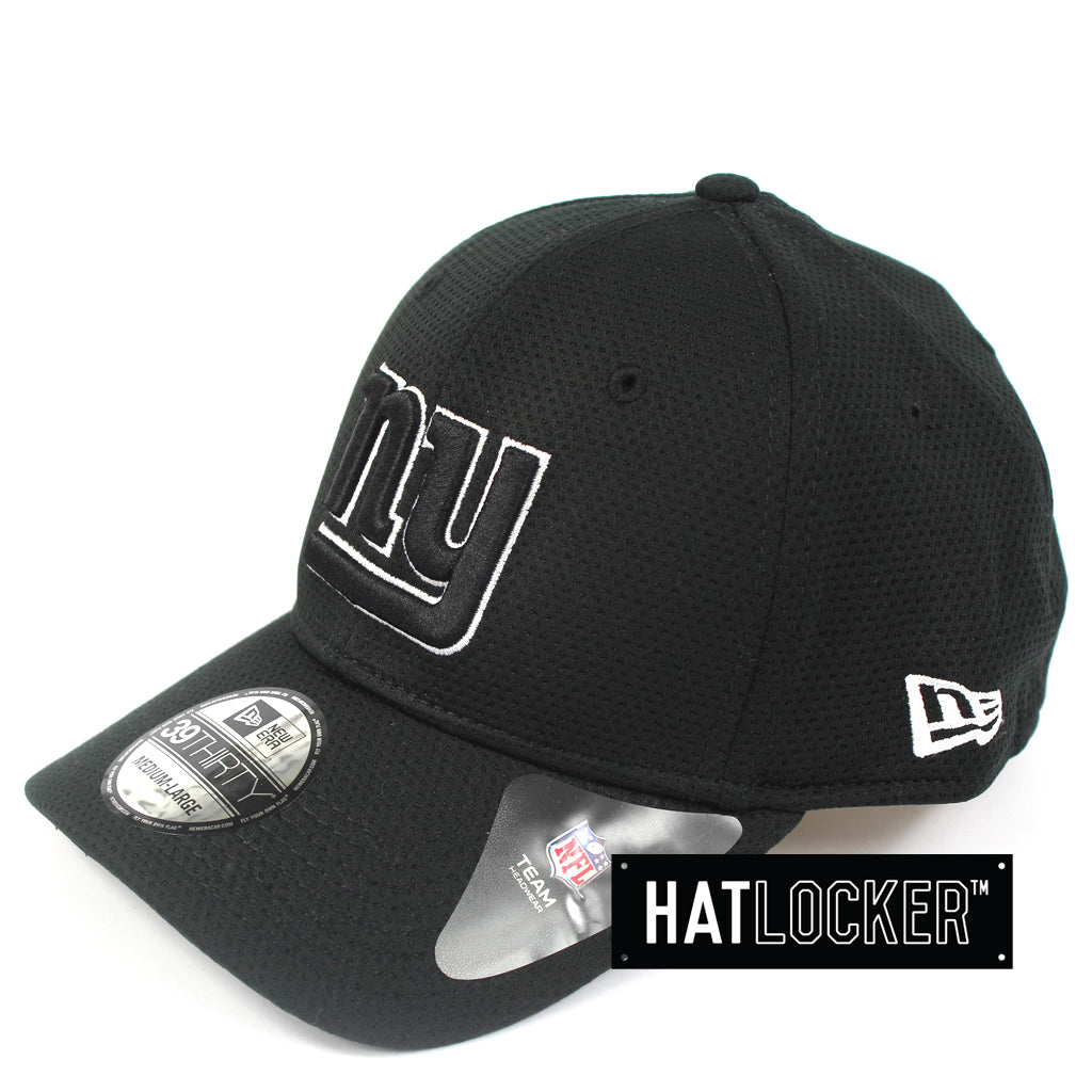 8a1f12ef1 Details about New Era - New York Giants Black White Performance Curved Brim