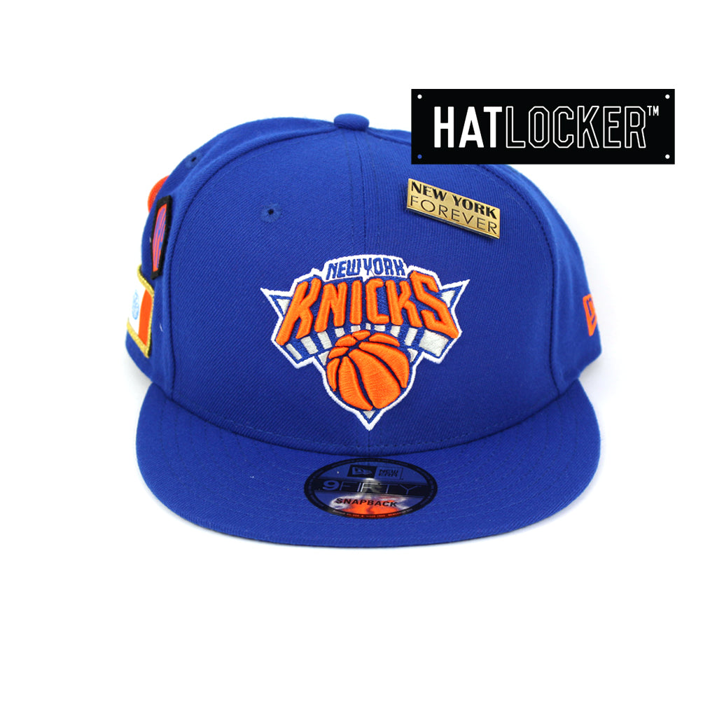 New Era New York Knicks 2018 NBA Draft Snapback Hat f1d7888cb