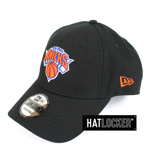 New Era New York Knicks Curved Snapback Cap