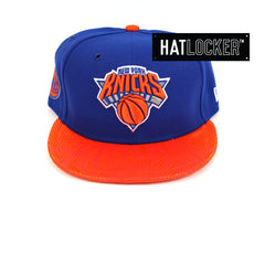 New Era New York Knicks On-Court Emblem Collection Snapback Hat