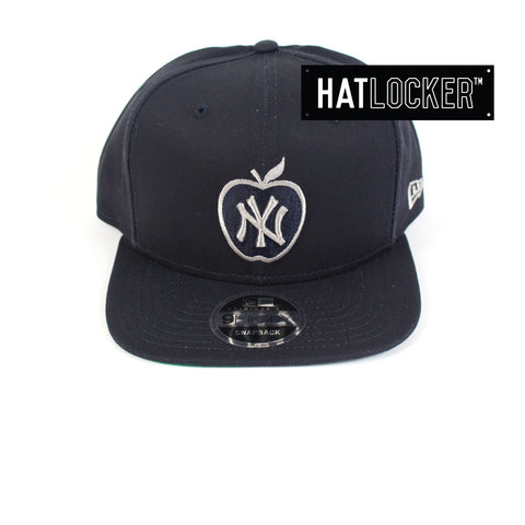 New Era - New York Yankees Apple Navy & Grey Snapback