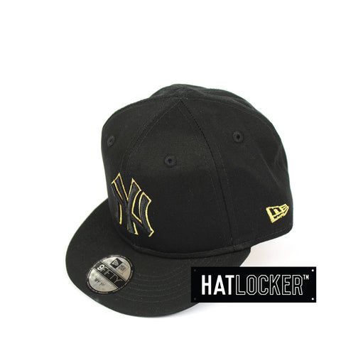 693fb77b862 New Era New York Yankees Black Gold My 1st MLB Snapback