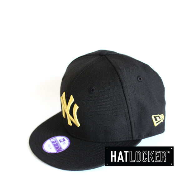 New Era - New York Yankees MLB Basic Gold Youth Snapback