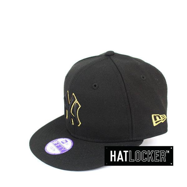 New Era - New York Yankees Metallic Gold Youth Snapback