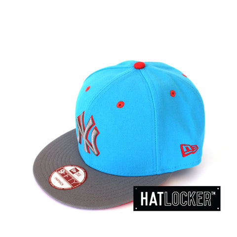 New Era New York Yankees Lavaflip Blue Fanatic Snapback