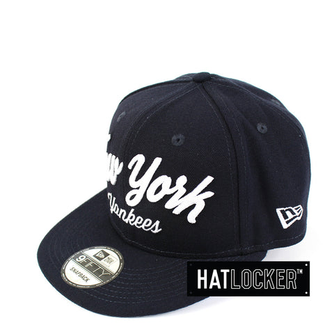 New Era - New York Yankees City Stitcher Snapback