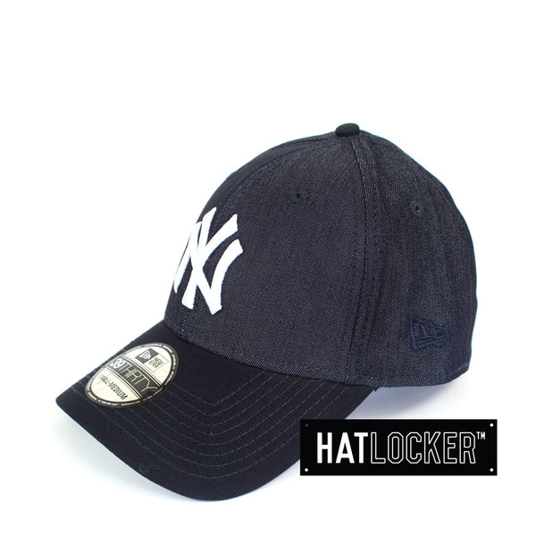 New Era - New York Yankees Curved Brim Canvas Stretch Fit