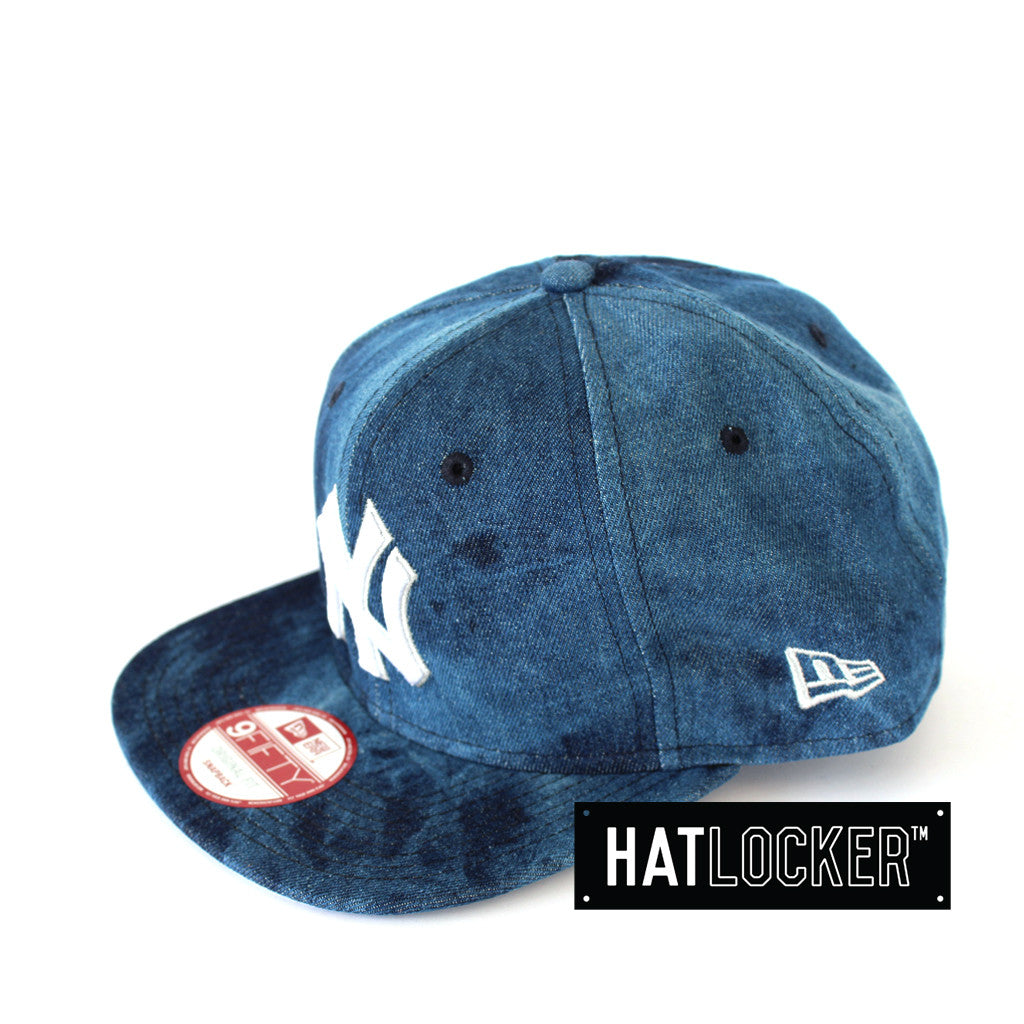 a359ea959c0 Details about New Era - New York Yankees Blue Denim Dip Snapback