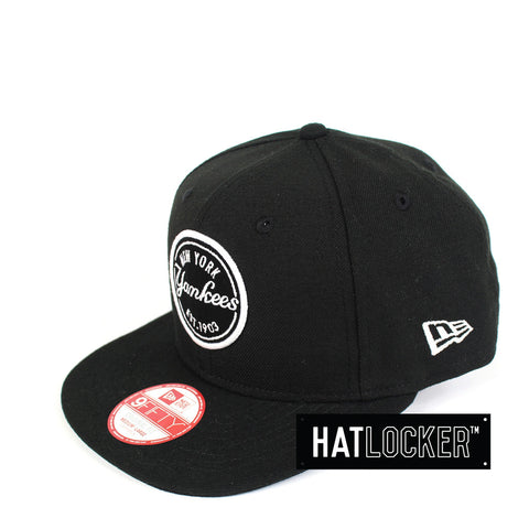 New Era - New York Yankees Emblem Patch Snapback