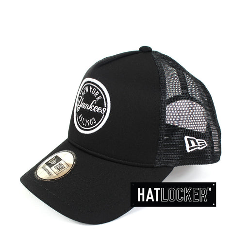 New Era - New York Yankees Black Foam Patch Trucker