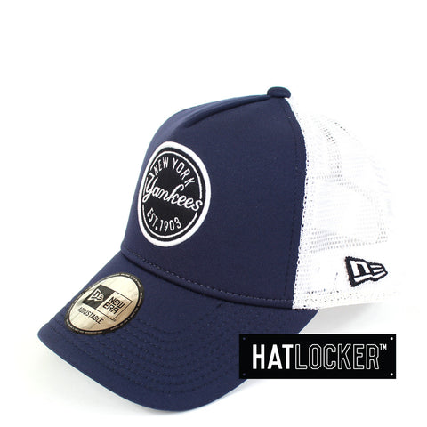 New Era - New York Yankees Navy Foam Patch Trucker