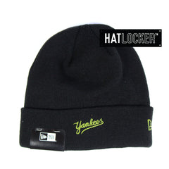 New Era - New York Yankees Lifestyle Knit Black Beanie
