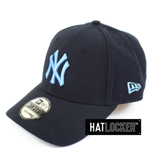 New Era New York Yankees Navy Poly Curved Brim Hat