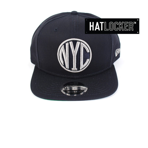 New Era - New York Yankees Navy & Grey Cotton Snapback