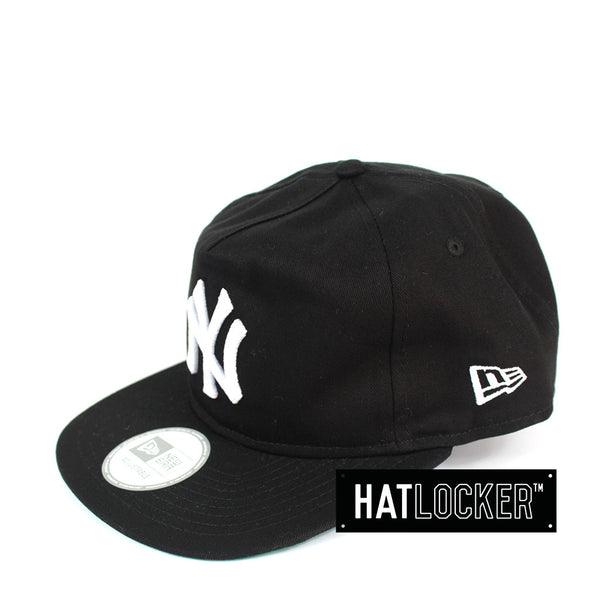 New Era - New York Yankees Old Golfer Black Strapback