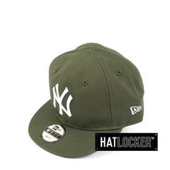 New Era New York Yankees Olive My 1st Baseball Snapback Hat