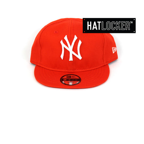 New Era New York Yankees Orange My 1st Baseball Snapback Hat