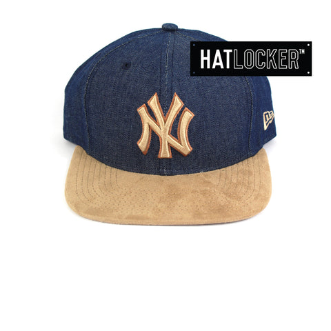 New Era New York Yankees Rustic Snapback Cap