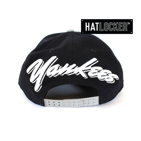 New Era - New York Yankees Script Flip Snapback