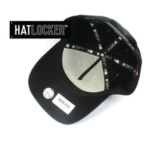 New Era New York Yankees Tonal Gel Black Curved Snapback Hat