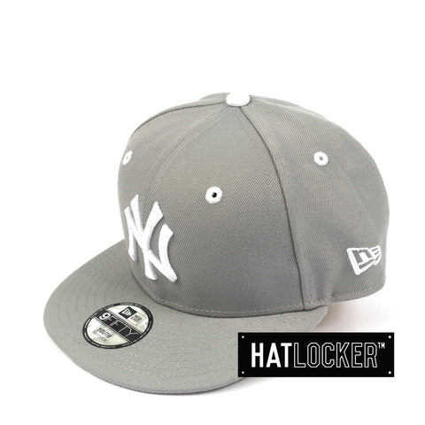 e1db8875c8ea9 New Era New York Yankees Grey Wheat Youth Snapback Hat