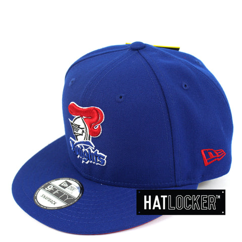 Hat Locker Australia New Era NRL Newcastle Knights Core Snapback Hat Side
