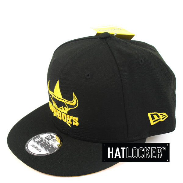 New Era North Queensland Cowboys Black Pop Snapback Hat
