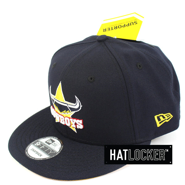 Hat Locker Australia New Era NRL North Queensland Cowboys Core Snapback Hat Side