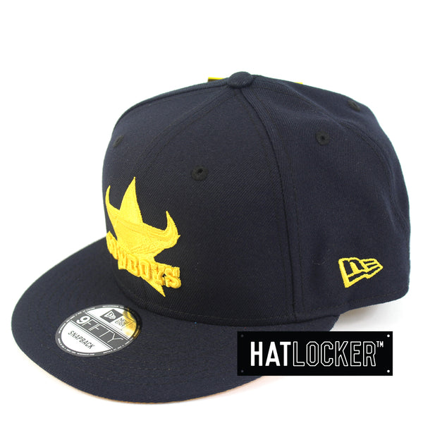 New Era North Queensland Cowboys Tonal Pop Snapback Hat