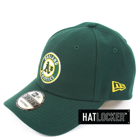 New Era Oakland Athletics Team Badge Curved Snapback Cap