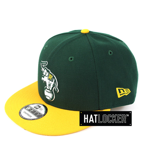 New Era Oakland Athletics Alt Logo Snapback Hat
