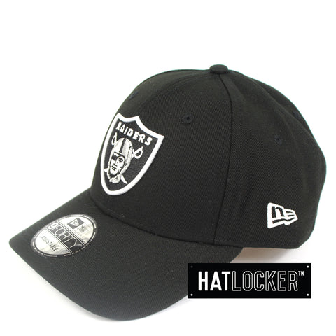 New Era Oakland Raiders White Pop Curved Snapback Cap