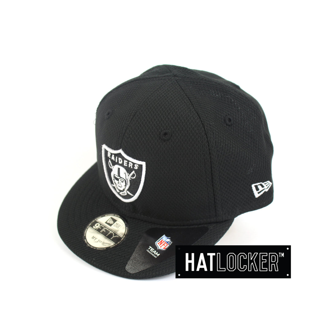 db217eb8f68 New Era Oakland Raiders Black Diamond Era My 1st NFL Snapback Hat