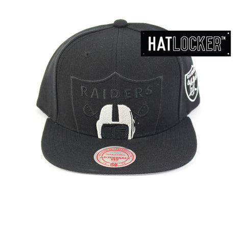 Mitchell & Ness Oakland Raiders Cropped TC Pop Snapback Ha