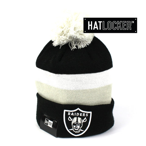 New Era Oakland Raiders Team Knit Beanie